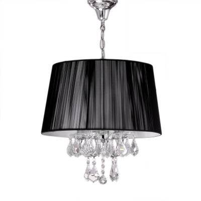 Lámpara colgante Miramar negro