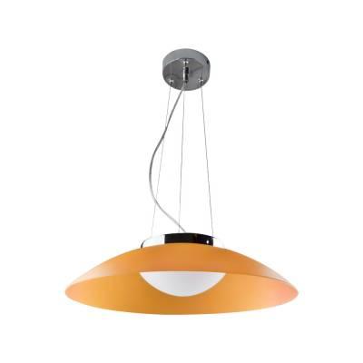 Lámpara colgante LED naranja Plato
