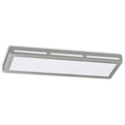 Plafón ventanas 75w plata