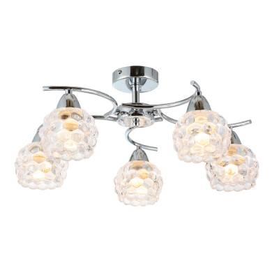Lámpara de techo  5 luces burbujas