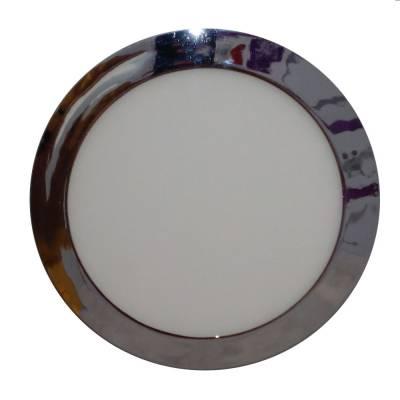 Downlight redondo cromo 18W