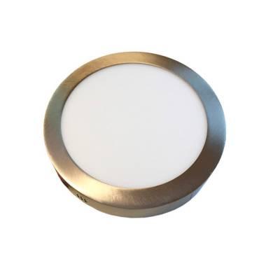 Panel Led superficie redondo cuero