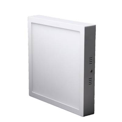 Panel de superficie cuadrado blanco 18W