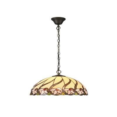 Lámpara colgante Tiffany Lilac