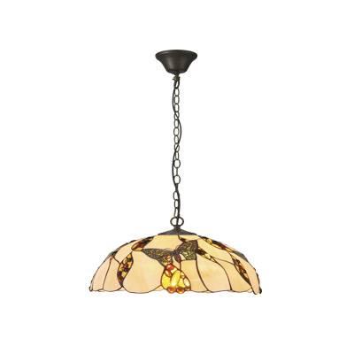 Lámpara colgante Tiffany Butterfly