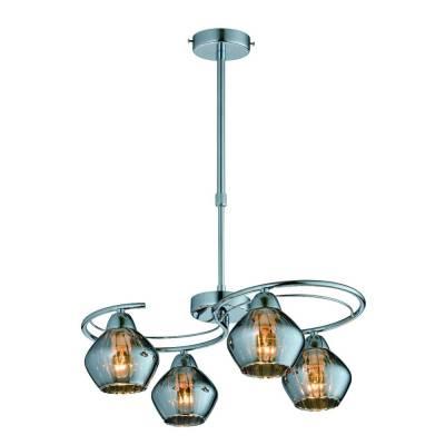 Lámpara Emma cromo 4XE14