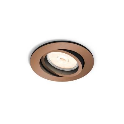 Empotrabe Donegal redondo cobre