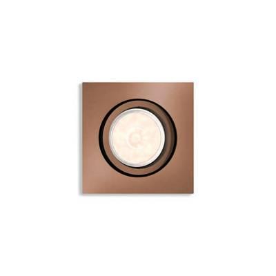 Empotrable cuadrado Donegal cobre