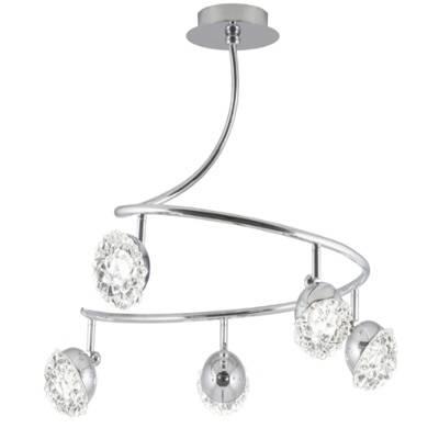 Lámpara de techo colgante Stella 5 luces