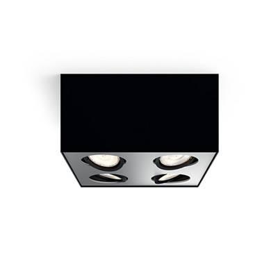 Plafon Box 4l Negro