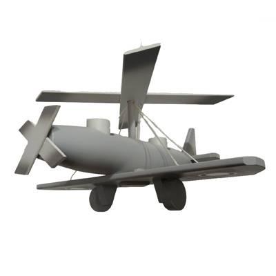 Lampara Autogiro gris
