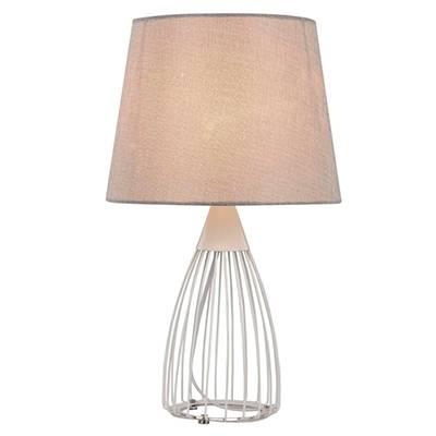 Lámpara de mesa Wire, blanco