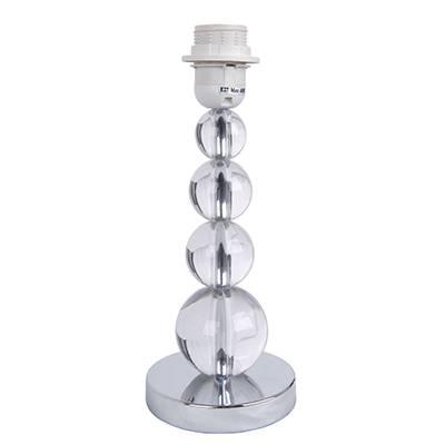 Lámpara de Mesa cromo sin pantalla