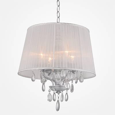 lámpara colgante clásica 4 L