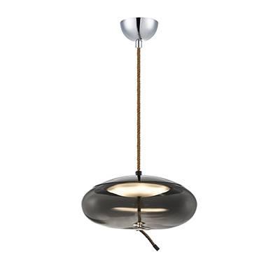 Lámpara de techo Led 12w Fume 35 cm Dm