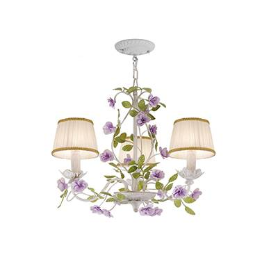 Lámpara de techo Florentina flores