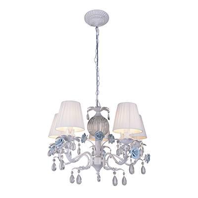 Lámpara Florentina blanco y azul