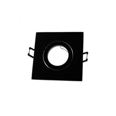 Empotrable Helium cuadrado negro