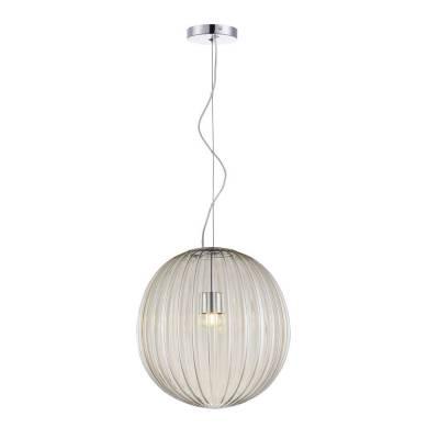Lámpara colgante Bola de cristal, 30 cm dm