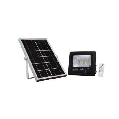 Proyector Solar negro 10w + mando
