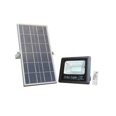 Proyector solar 25w negro +mando