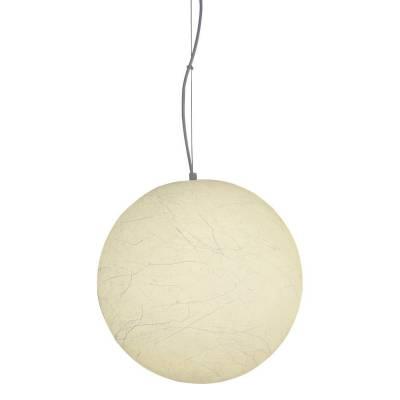 Lámpara colgante Luna llena, 40 cm diámetro