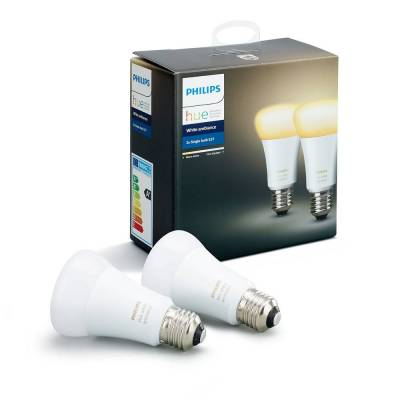 Pack 2XE27 10W Philips Hue