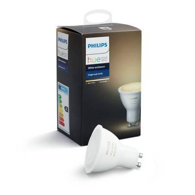 Bombilla GU10 5.5w Philips Hue White ambiance