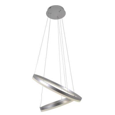 Lámpara de techo Bolson plata