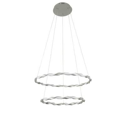 Lámpara Colgante aluminio 2L, 37W