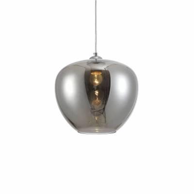 Lámpara colgante 1 luz Mariela, plata