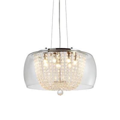 Lámpara colgante Clear Nadine 50 cm