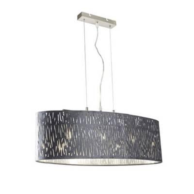 Lámpara de techo colgante Tarok, terciopelo
