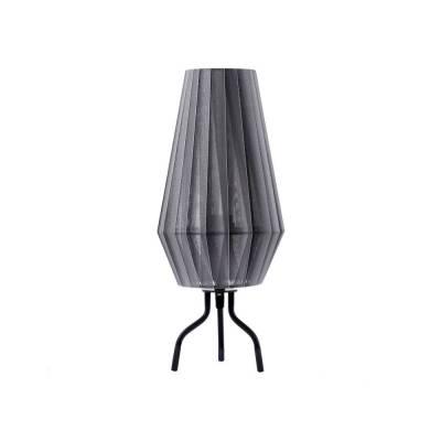 Sobremesa Cote Gris lámpara de tela