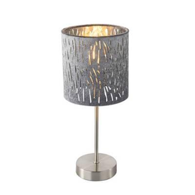 Lámpara de mesa Níquel mate Tarok
