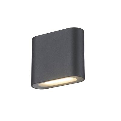 Aplique 6w led negro