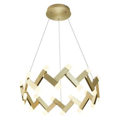 Lámpara colgante Empire 32w oro