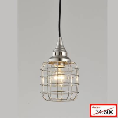 Lámpara colgante Steel