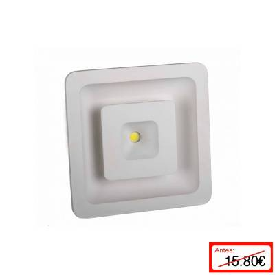 Downlight cuadrado 2 tonos led