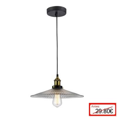 Lámpara colgante Transparente