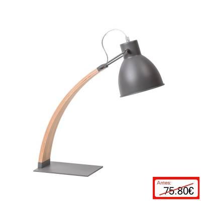 Flexo metal gris madera