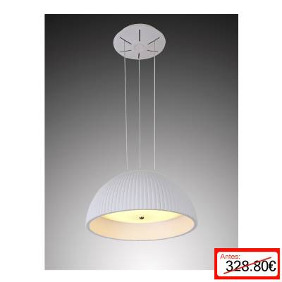 Lámpara colgante Blanco Led 32W