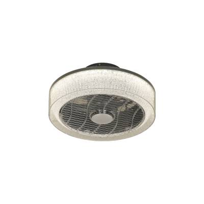 Ventilador Plafón plata