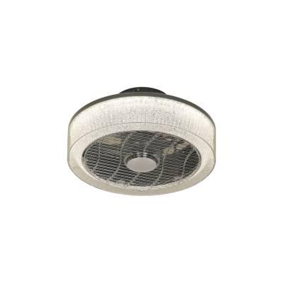 Ventilador Plafón plata
