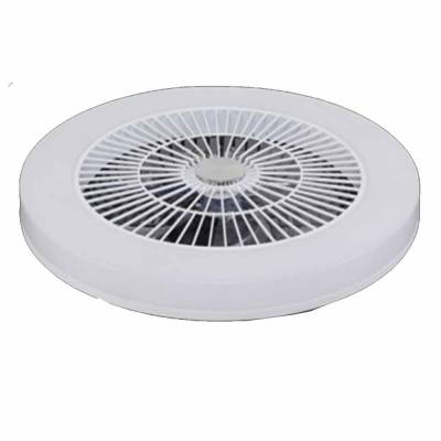 Plafon con ventilador en blanco