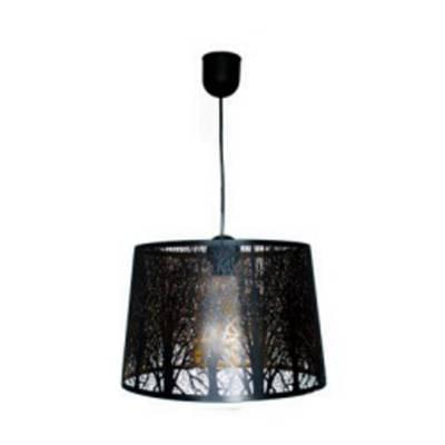 Lámpara colgante Zen negro/oro