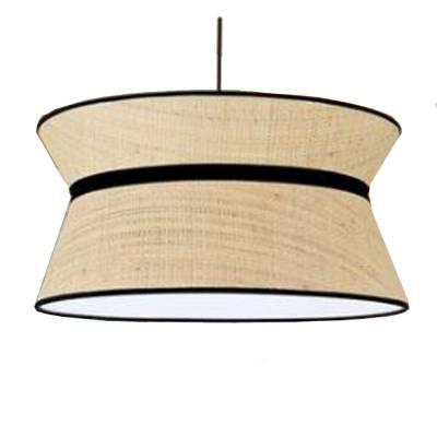 Lámpara colgante Drac 466-40 Caña Beige