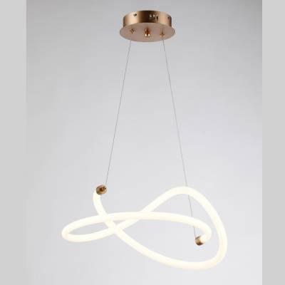 Lámpara colgante Wave 40w oro