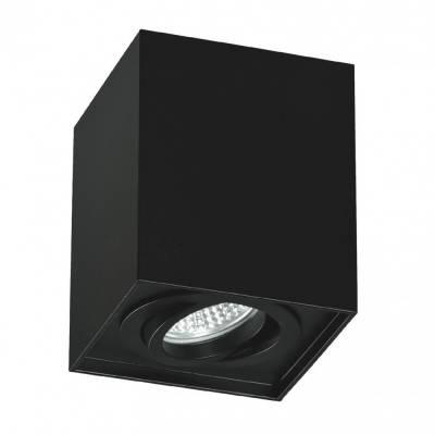 Cubo GU10 Negro