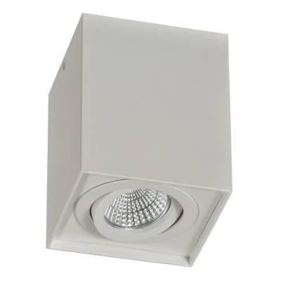 Cubo GU10 blanco